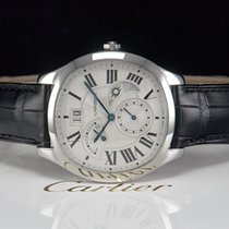 Cartier DRIVE DE CARTIER GMT & MOON Stahl Ref. WSNM0005  NEU