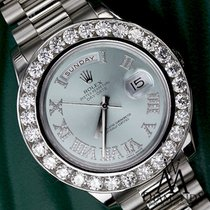 Rolex Platinum Presidential 10ct Diamond Rolex Day-date Ii...