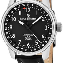Revue Thommen Airspeed XL Automatic Pointer Date 16050.2537