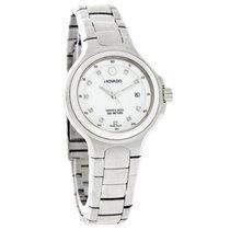 Movado Series 800 Ladies Diamond Mop Dial Quartz Watch 2600033