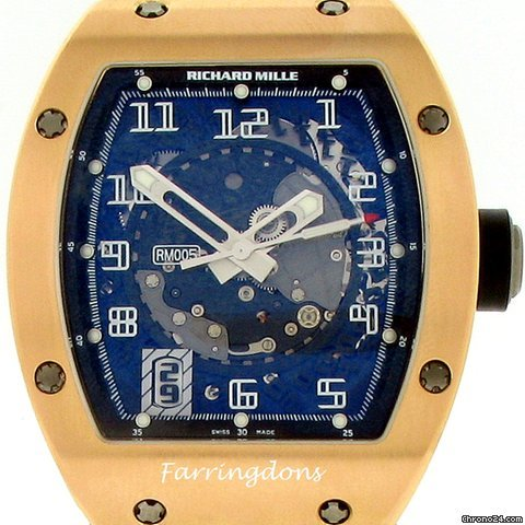 Richard Mille RM005 Rose Gold