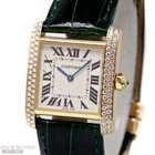 Cartier Tank Francaise Medium 18k Yellow Gold Diamond S...