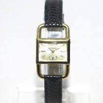 "Jaeger-LeCoultre Etrier ""Hermès"" 18k Yellow Gold"