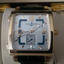Ulysse Nardin Quadrato Dual Time 18K Rose Gold