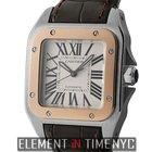 Cartier Santos Collection Santos 100 Midsize 36mm Steel &...