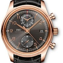 IWC Portuguese Chronograph Classic - Red gold IW390405