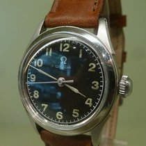 Omega vintage 1944 ref 2621-2 small meca military style with...
