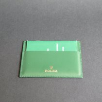Rolex Creditcard holder + Warranty Booklet