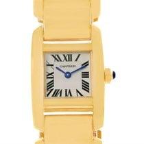 Cartier Tankissime 18k Yellow Gold Ladies Watch W650037h Box...
