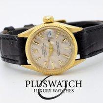 Rolex Vintage 18K Oro Gold Datejust Lady 24mm Ser. L2943