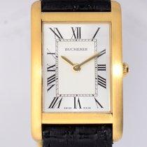 Carl F. Bucherer Dresswatch 18K Yellow Gold Flat roman...