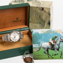 Rolex Datejust 16234 with box & instructions 1991 green...