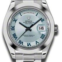 Rolex Day Date II President Platinum - Polished Bezel