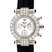 Chopard Imperial Chrono 38/3168-23 Whiete Gold, Diamonds, 32mm