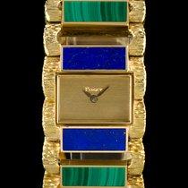 Piaget 18k Y/G Rare Lapis Lazuli & Malachite Set Vintage...