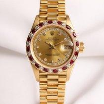Rolex Lady DateJust 69198 Diamond & Ruby 18K