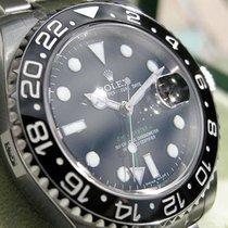 Rolex Gmt-master Ii 116710 Mens Stainless Steel Ceramic Black...