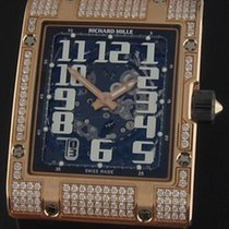 Richard Mille RM016 Diamonds RM016 Ultra Flat in Rose Gold...