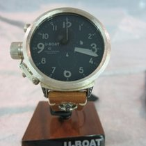 U-Boat Flightdeck 50 CA in 925 Silber mit BK Martellèe Diamonds C
