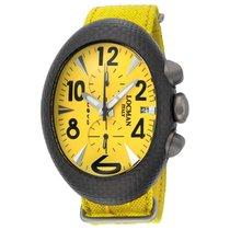 Locman Nuovo Carbonio Yellow Dial Yellow Cordura Fabric...