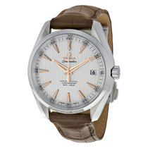 Omega Aqua Terra 150m Master Co-Axial Silver Dial Men's Watch