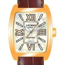 Locman History 488N5NMWF5N0PSN Pearl Steel Quartz Ladies