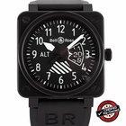 Bell & Ross BR 01 Altimeter Ref. BR01-96-SAlt - Majority...