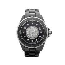 Chanel J12 Diamond Dial Ceramic Unisex H1757