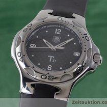 TAG Heuer Kirium Ti5 Titan Herrenuhr Wl1180 Carbon Zifferblatt