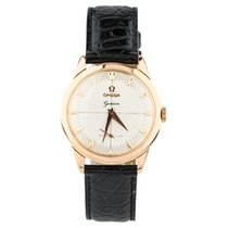 Omega 18k Rose Gold Watch 17 Jewels