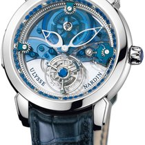 Ulysse Nardin Royal Blue Mystery Tourbillon 41mm 799-82