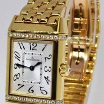 Jaeger-LeCoultre Ladies Reverso Duetto 18k & Diamond Watch...