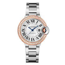 Cartier Ballon Bleu Quartz Ladies Watch Ref WE902080