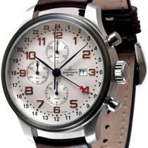 Zeno-Watch Basel -Watch Herrenuhr - OS Retro Chronograph GMT -...