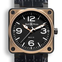 Bell & Ross BR01-92 Pink Gold Carbon BR01-92-BD Carbon...