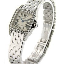 Cartier WF9003Y8 Santos Demoiselle - Small Size - White Gold...