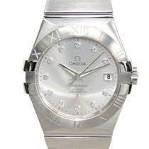 Omega Constellation Stainless Steel Silver Automatic 123.10.35...