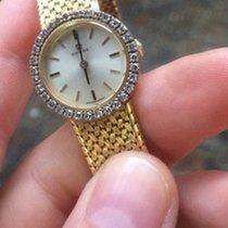 Omega Oro Gold Lady lady 26 mm manuale manual diamanti diamonds