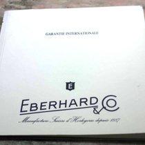Eberhard & Co. warranty papers booklet godron model...