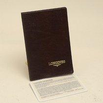 Longines Warranty Card