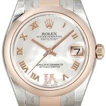 Rolex Datejust 31 Edelstahl Everose 178241 Perlmutt R DIA