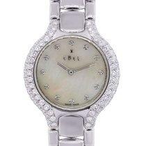 Ebel Beluga MOP Diamond Dial and Bezel 18k  Gold Watch