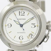 Cartier Pasha C Steel Automatic Unisex Watch W31015m7 (bf090193)