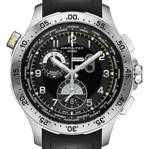 Hamilton Worldtimer Black Dial Chronograph Men's Watch
