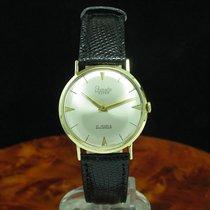 Primato Super 14kt 585 Gold Handaufzug Herrenuhr / Kaliber 605(d)