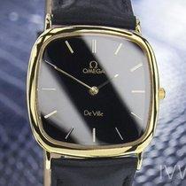 Omega De Ville Vintage Swiss Gold Plated Stainless Steel Mens...