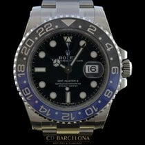 Rolex GMT MASTER II 116710 BLNR With Plastics  3/2017 NEW