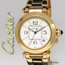 Cartier Pasha 38mm 18k Yellow Gold/Leather Automatic Mens...