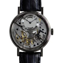 Breguet Tradition 18k White Gold Silver Manual Wind 7057BB/11/9W6