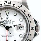 Rolex SS Explorer ll White Dial Inner Bezel Engraved 2000'...